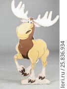 Купить «Cardboard moose, props for photo shoots in New Year and Christmas holidays», фото № 25836934, снято 14 декабря 2014 г. (c) Losevsky Pavel / Фотобанк Лори