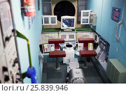 Купить «MOSCOW, RUSSIA - JAN 7, 2015: Prototype model of module Zvezda of ISS in the Museum of Cosmonautics. The Museum of Cosmonautics opens its doors to public on April 10th, 1981.», фото № 25839946, снято 7 января 2015 г. (c) Losevsky Pavel / Фотобанк Лори