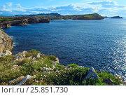 Cantabria coastline landscape. (2016 год). Стоковое фото, фотограф Юрий Брыкайло / Фотобанк Лори