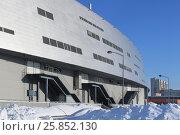 """Город Омск, хоккейный стадион """"Арена Омск"""", фото № 25852130, снято 29 января 2017 г. (c) Виктор Топорков / Фотобанк Лори"""