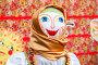 Масленица в России. Большая кукла для сжигания на традиционном карнавале, фото № 25860206, снято 26 февраля 2017 г. (c) FotograFF / Фотобанк Лори