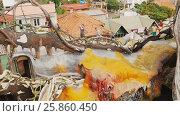 Купить «Hang Nga Guesthouse Crazy House, design Interior and Exterior landmark architecture Odd House», видеоролик № 25860450, снято 1 октября 2016 г. (c) Mikhail Davidovich / Фотобанк Лори