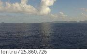 Купить «sea or indian ocean and blue sky», видеоролик № 25860726, снято 13 марта 2017 г. (c) Syda Productions / Фотобанк Лори