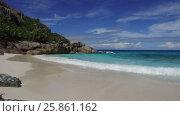 Купить «african island beach in indian ocean», видеоролик № 25861162, снято 12 февраля 2017 г. (c) Syda Productions / Фотобанк Лори