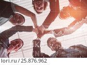Купить «Composite image of stocks and shares», фото № 25876962, снято 17 июля 2018 г. (c) Wavebreak Media / Фотобанк Лори