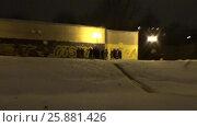 Пиротехника на улицах Новогодней ночи. Петарды. (2013 год). Редакционное видео, видеограф Краснобай Александр / Фотобанк Лори