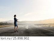 Купить «First steps on her long way . Mixed media», фото № 25898902, снято 17 марта 2014 г. (c) Sergey Nivens / Фотобанк Лори