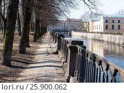 Купить «Набережная канала Грибоедова. Санкт-Петербург», эксклюзивное фото № 25900062, снято 1 апреля 2017 г. (c) Александр Щепин / Фотобанк Лори