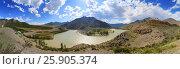 Купить «Confluence of Chuya and Katun Rivers in Altai», фото № 25905374, снято 12 июня 2015 г. (c) Михаил Коханчиков / Фотобанк Лори