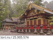 "Купить «Nikko Toshogu Shrine in Nikko ""Shrines and Temples of Nikko"" a UNESCO world heritage site, Tochigi, Japan», фото № 25905574, снято 18 октября 2019 г. (c) BE&W Photo / Фотобанк Лори"