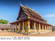 Купить «Wat Si Saket, Vientiane, Laos, Indochina, Southeast Asia, Asia», фото № 25907078, снято 25 мая 2019 г. (c) BE&W Photo / Фотобанк Лори
