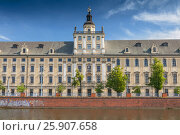 University of Wroclaw on the Oder River, Poland. Стоковое фото, агентство BE&W Photo / Фотобанк Лори