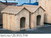Собачьи будки. Стоковое фото, фотограф Игорь Новиков / Фотобанк Лори