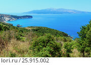 Купить «Ionian Sea summer coast, Albania.», фото № 25915002, снято 13 июля 2016 г. (c) Юрий Брыкайло / Фотобанк Лори
