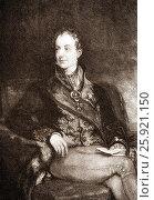 Купить «Prince Klemens Wenzel von Metternich, 1773-1859, Earl of Kynzvart, Duke of Portella, statesman in imperial Austria.», фото № 25921150, снято 20 марта 2017 г. (c) age Fotostock / Фотобанк Лори