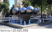Парк фонтанов в Баку. Азербайджан, видеоролик № 25925958, снято 27 сентября 2015 г. (c) Евгений Ткачёв / Фотобанк Лори