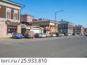 Город Иркутск, исторический 130-й квартал, фото № 25933810, снято 27 марта 2017 г. (c) Геннадий Соловьев / Фотобанк Лори