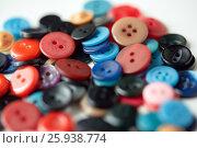 Купить «many sewing buttons», фото № 25938774, снято 29 сентября 2016 г. (c) Syda Productions / Фотобанк Лори