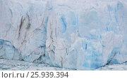 Купить «Glacier Perito Moreno (Glaciar Perito Moreno), southeast of Argentina, province Santa Cruz», видеоролик № 25939394, снято 9 марта 2017 г. (c) Яков Филимонов / Фотобанк Лори