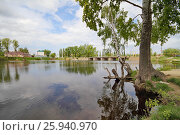 Купить «Моршанск. У плотины на реке Цне», эксклюзивное фото № 25940970, снято 16 мая 2011 г. (c) A Челмодеев / Фотобанк Лори