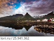 Купить «Lofoten archipelago», фото № 25941362, снято 29 июня 2016 г. (c) Андрей Армягов / Фотобанк Лори
