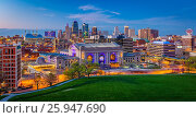 Купить «Kansas City (often referred to as K. C. ) is the most populous city in the U. S. state of Missouri. In 2010, it had a population of 459,787, which had...», фото № 25947690, снято 3 апреля 2016 г. (c) age Fotostock / Фотобанк Лори