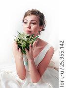 Купить «Красивая невеста», фото № 25955142, снято 7 июля 2016 г. (c) Морозова Татьяна / Фотобанк Лори
