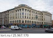 Купить «Riga, Elizabetes Street 38, eclectic, architect Ernest Pole, 1911», фото № 25967170, снято 28 июля 2015 г. (c) Andrejs Vareniks / Фотобанк Лори