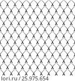 Elegant Geometric Pattern. Стоковая иллюстрация, иллюстратор Алла Ринчино / Фотобанк Лори