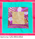 Купить «Square applique of patchwork cloth», фото № 25993054, снято 7 июля 2020 г. (c) easy Fotostock / Фотобанк Лори