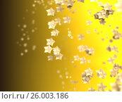 Купить «Shiny Stars Particles on smooth background», иллюстрация № 26003186 (c) Станислав Парамонов / Фотобанк Лори