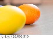 Купить «Easter eggs», фото № 26005510, снято 15 апреля 2017 г. (c) Олег Шеломенцев / Фотобанк Лори