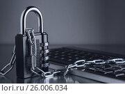 The concept of an encrypted Internet connection, фото № 26006034, снято 17 апреля 2017 г. (c) Александр Якимов / Фотобанк Лори