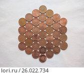 GBP Pound coins. Стоковое фото, фотограф Zoonar/C.Divizia / easy Fotostock / Фотобанк Лори