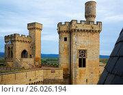 Купить «Towers of gothic castle», фото № 26026194, снято 20 апреля 2016 г. (c) Яков Филимонов / Фотобанк Лори