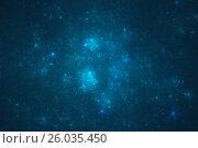 Звездное небо. Стоковая иллюстрация, иллюстратор Дмитрий Тищенко / Фотобанк Лори