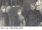 Купить «Сын полка. Фотография военных лет, 1943 год», фото № 26036238, снято 16 января 2019 г. (c) Retro / Фотобанк Лори
