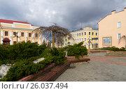 Купить «Белоруссия, Город Гродно. Старые улицы.», фото № 26037494, снято 25 февраля 2017 г. (c) Валерий Ситников / Фотобанк Лори