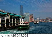 Купить «Old ferry in Hong Kong», фото № 26045354, снято 16 февраля 2019 г. (c) easy Fotostock / Фотобанк Лори