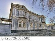 Город Иркутск, дом Волконских, фото № 26055582, снято 26 марта 2017 г. (c) Геннадий Соловьев / Фотобанк Лори