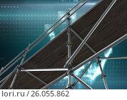 Купить «Digital interface with 3D Scaffolding», фото № 26055862, снято 22 августа 2018 г. (c) Wavebreak Media / Фотобанк Лори
