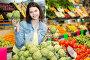 Woman choosing fruit, фото № 26077686, снято 18 марта 2017 г. (c) Яков Филимонов / Фотобанк Лори