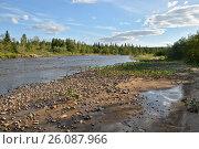 Национальный парк Югыд ва, река Щугор (2016 год). Редакционное фото, фотограф Сергей Дрозд / Фотобанк Лори