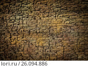 Background of small blocks brown colour. Стоковое фото, фотограф Dmitriy Melnikov / Фотобанк Лори
