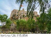 Купить «Citadel in Rabati Castle in Akhaltsikhe, Georgia», фото № 26115854, снято 29 сентября 2016 г. (c) Elena Odareeva / Фотобанк Лори