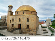 Купить «Mosque in Rabati Castle in Akhaltsikhe, Georgia», фото № 26116470, снято 29 сентября 2016 г. (c) Elena Odareeva / Фотобанк Лори