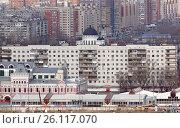 Спальный район Нижнего Новгорода (2017 год). Редакционное фото, фотограф Юрий Леденцов / Фотобанк Лори