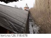 Стены Нижегородского Кремля (2017 год). Стоковое фото, фотограф Юрий Леденцов / Фотобанк Лори