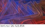 Купить «Colorful abstract fractal background», иллюстрация № 26123854 (c) Михаил Яковлев (ktynzq) / Фотобанк Лори