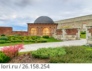 Купить «Rabati Castle in Akhaltsikhe, Georgia», фото № 26158254, снято 29 сентября 2016 г. (c) Elena Odareeva / Фотобанк Лори